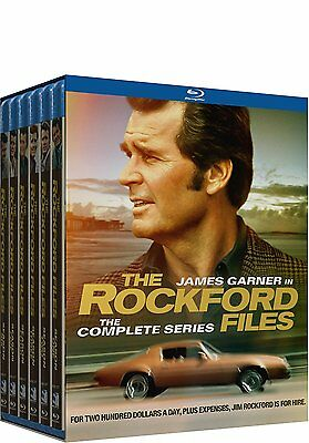 The Rockford Files Complete Series Season 1-6 (1 2 3 4 5 6) NEW 22-DISC BLU-RAY
