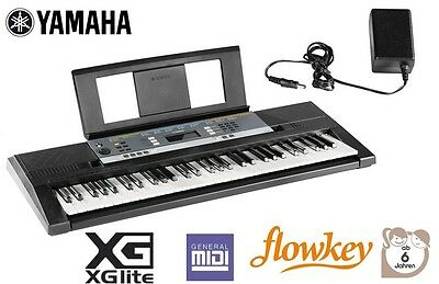 Keyboard YAMAHA Digitales Stereo 61 Tasten Keyboard YPT-240 Unterrichtsfunktion