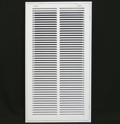 "12"" x 24"" RETURN FILTER GRILLE - Easy Air FLow - Flat Stamped Face"