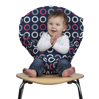 Totseat Washable Portable Travel Highchair Baby Toddler Seat With Harness