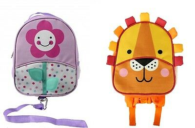 Red Kite Baby/Toddler Nursery/School/Travel Backpack With Reins