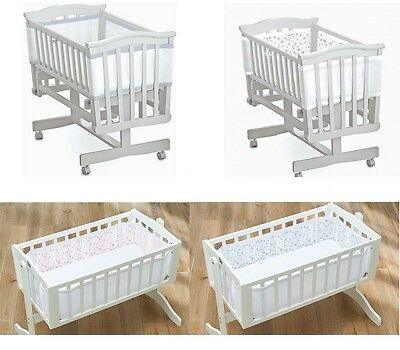 BreathableBaby Breathable Baby Airflow Mesh Baby CRIB Liner Bumper