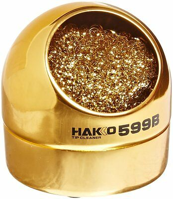 Hakko 599B-02 Solder Tip Cleaning Wire and Holder New