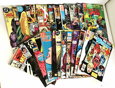 Hodge Podge DC and Marvel Comics Lot of 24 The New Warriors X-Man The Beast   –!