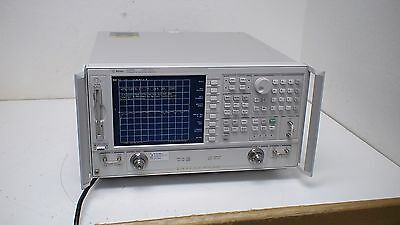Agilent 8720ES   50 MHz - 20 GHz Network Analyzer  with op:10,12,89,1D5,400.