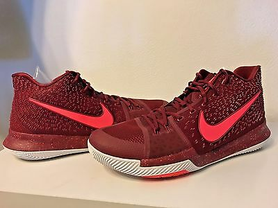 8a93c27b22b1 ... where to buy nike kyrie 3 iii mens basketball shoes sz 17 hot punch  team red