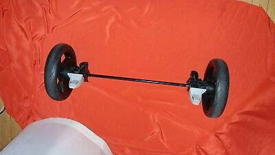 Urbini Turni or evenflo stroller parts rear axle wheels replacement