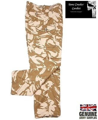 Genuine British army Soldier 95 desert Combat Trousers- various sizes