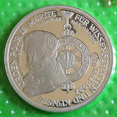 Germany 1992 D Silver 10 Proof Coin