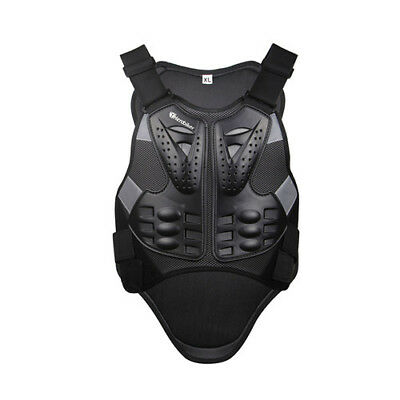 New Motorcycle Body Armor Guard Spine Chest Protector Motocross Racing Cycling