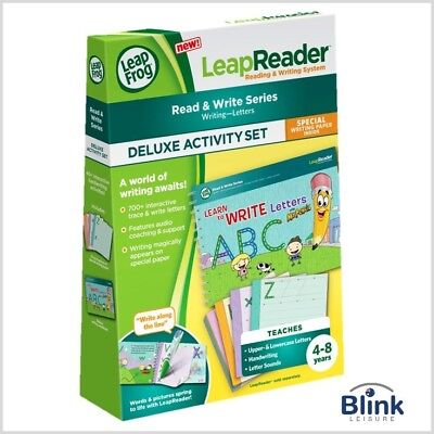 LeapFrog LeapReader Activity Set - Learn to Write Letters With Mr. Pencil