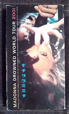 Madonna Drowned World Tour 2001 VHS Great Condition