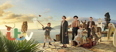 """002 The Durrells - Keeley Hawes Family UK TV Show 30""""x14"""" Poster"""