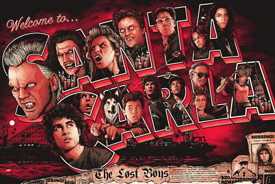 "012 The Lost Boys - Vampire Thriller USA Movie 21""x14"" Poster"