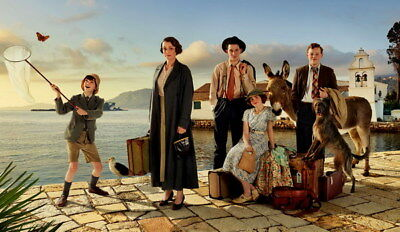 "001 The Durrells - Keeley Hawes Family UK TV Show 24""x14"" Poster"