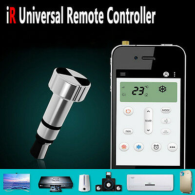 Portable Infrared Remote Control Controller Dustproof Plug for iPhone 6s 5s 7