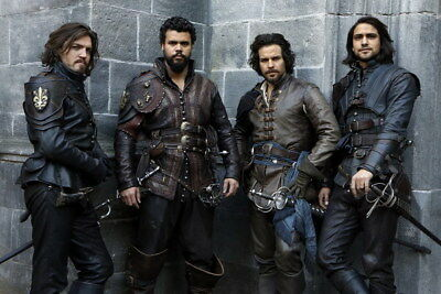 """005 The Musketeers - Season1 2 3 4 Fight Hot TV Shows 36""""x24"""" Poster"""