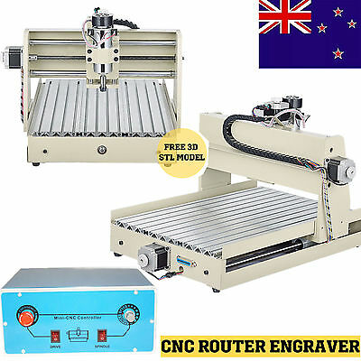 3/4AXIS 3040T/6040T CNC Router Carving/Engraving/Milling CUTTER Desktop Machine