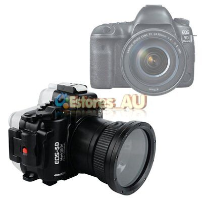 SeaFrogs 40m/130ft Underwater Waterproof Housing Case For Canon EOS 5D Mark Ⅲ/ Ⅳ