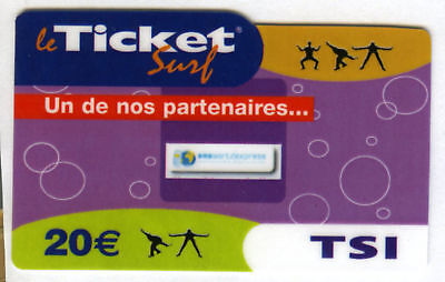 Ticket Surf Internet Nicht Telefonkarte Leer 30/09/2006