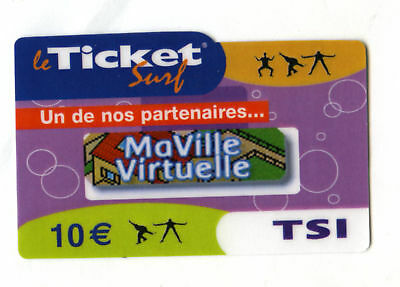 Ticket Surf Mavile Applicationen Nicht Telefonkarte Leer 31/07/07