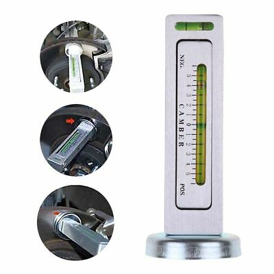 Universal Adjustable Magnetic Camber Castor Strut Wheel Alignment Gauge Tools