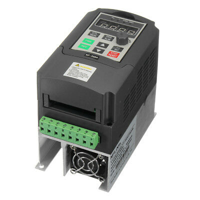 220V 4A Single Phase 3PH Convertitore di frequenza Variable Output Speed Drive