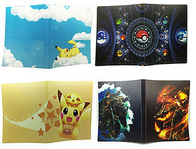 Pokemon Cards Album Book List Card Collectors 112Pcs Pokemon Cards Holder