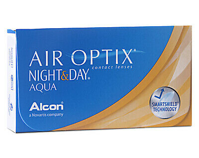 Air Optix Night & Day Aqua - 6er Box - Monatslinsen - weiche Kontaktlinsen