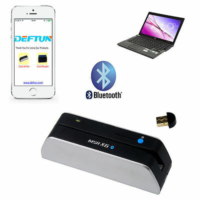 Bluetooth Magnetic Strip Credit Card Reader Writer for Mobile Android Phone