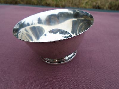 1980's Birk's Canada Sterling Silver Small Bowl Stamped and Numbered 91.5 grams