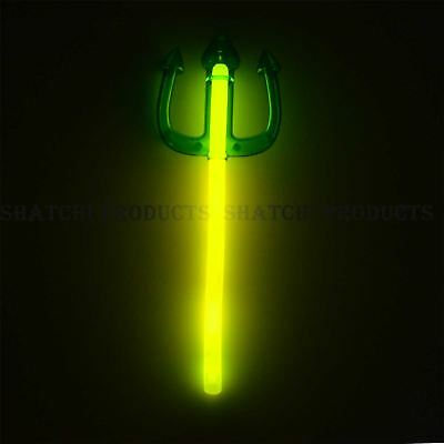 Halloween Glow Stick Trident Assorted Colour for Kids Fancy Dress Accessories