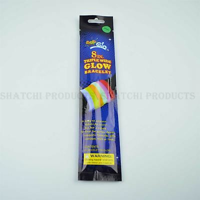 8IN Glow Bracelet Halloween Birthday Party Kids Fancy Dress Accessories