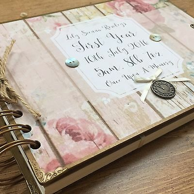 Personalised Scrapbook/ Memory Book/ Photo Album/ Guest Book/ Baby's First Year