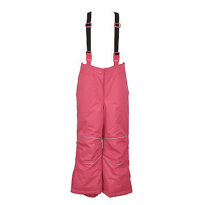 Children Kids Girls Ski/Snow Wear Pants in Pink Size 2-10 Water/Wind proof