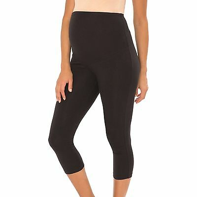 Great Expectations Maternity Capri Legging Size Xs Black New Fast Shipping