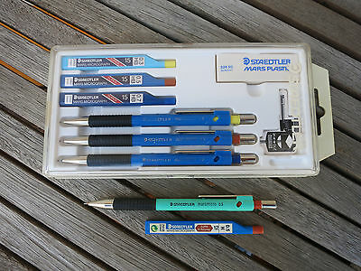 Staedtler Mars Micrograph Set 0,3/0,5/0,7 und marsmicro 0,5 mechanical pencils