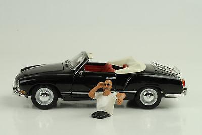 Cool Driver George Figurine 1:24 AMERICAN DIORAMA / No Car