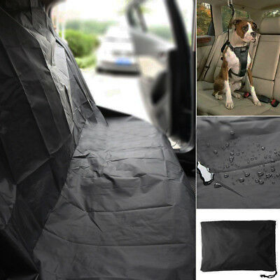 Universal Waterproof Car Rear Back Seat Cover Pet Heavy Duty Protector Nylon