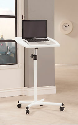 Coaster Laptop Stand In White Finish 800484