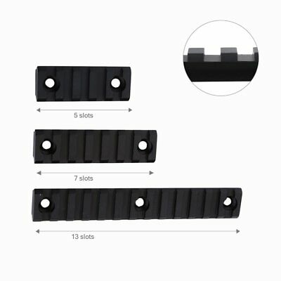 5,7,13 Slot Metal Picatinny/Weaver Rail Section for Keymod Handguard Shooting