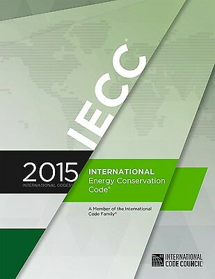 2015 International Energy Code - IECC - Soft Cover - Free US Shipping