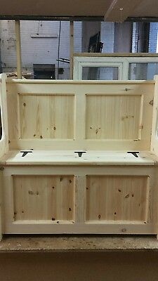 3ft Church pew Monks bench