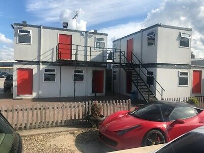 Luxury Two Storey Portable Cabins With Stairs Modular Building Portacabin
