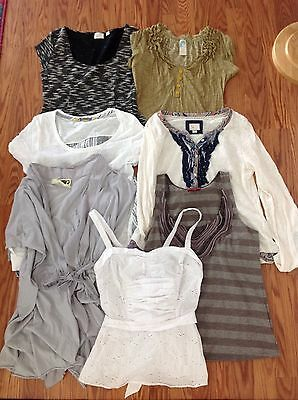 Anthropologie LOT tee party girls from savoy c. keer postmark one september tops