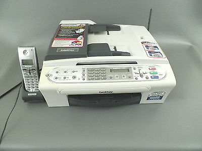 Brother Intellifax-2580C Inkjet All-In-One Printer Copier Fax machine