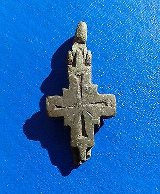 Ancient Bronze Cross-encolpions. 9th to the mid-14th century.