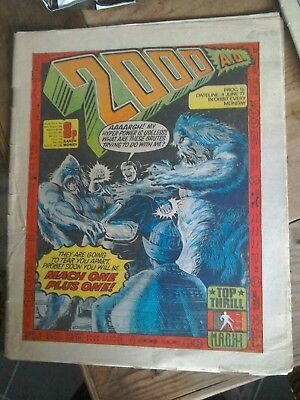 2000ad prog 15 from 1978