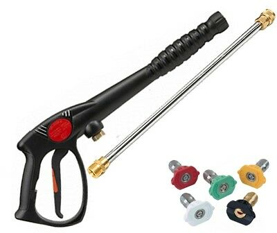 SPRAY GUN, WAND / LANCE & TIPS Power Pressure Washer Water Pumps Up to 3200 psi