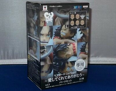 Banpresto One Piece Cry Heart Vol. 3 Parts Set Accessories Figure NEW IN BOX